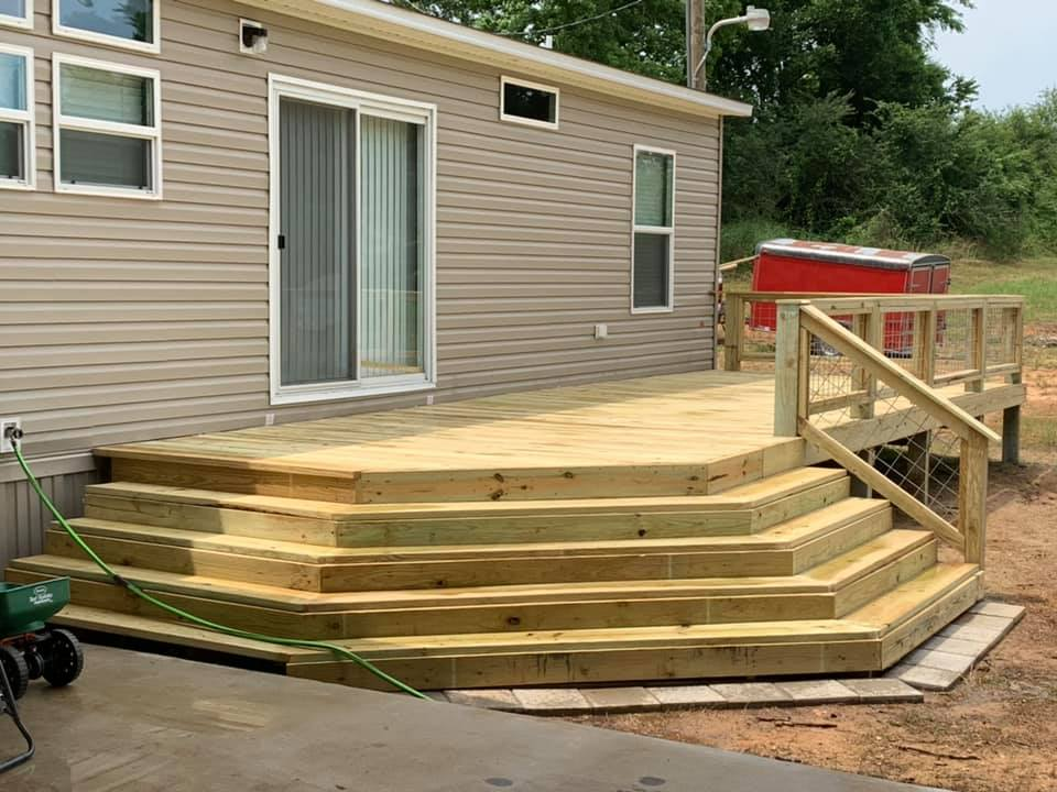 deck and patio contractor in ocean springs ms